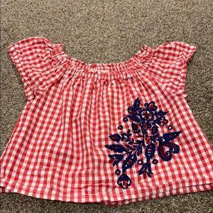 Zara top Size 4